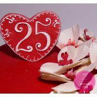 Торт Праздничный Сердце с орхидеями