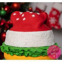 Торт Праздничный Новогодний бургер
