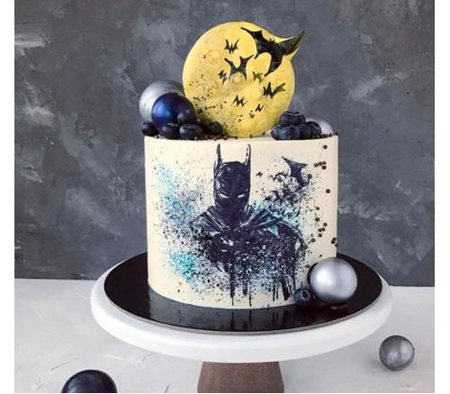 Торт Праздничный Бетмен 1