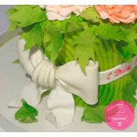 Торт Праздничный Букет пионов