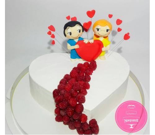Торт Праздничный Love is 1