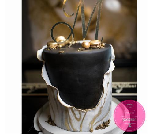 Торт Праздничный Мрамор
