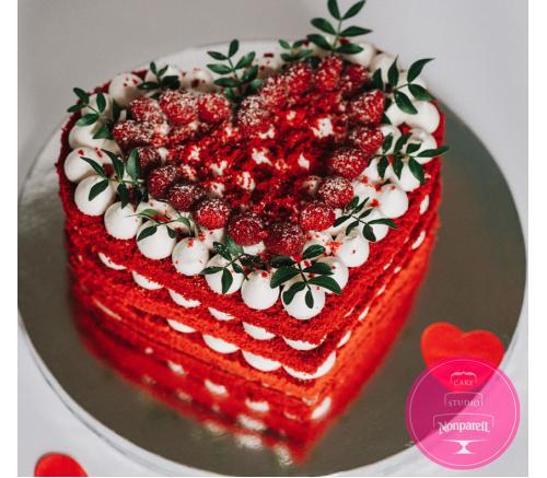 Торт Праздничный Сердце