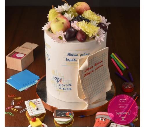 Торт Праздничный к Первому сентября