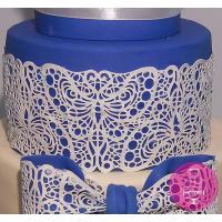 Торт Свадебный Кружевной