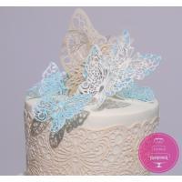 Торт Свадебный С инициалами