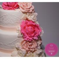 Торт Свадебный Пурпурные пионы