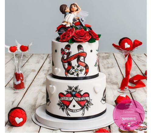 Торт Свадебный Симфония любви