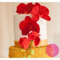 Торт Свадебный Золотой