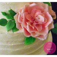 Торт Свадебный Кремовый с розами