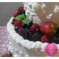 Торт Свадебный С ягодами