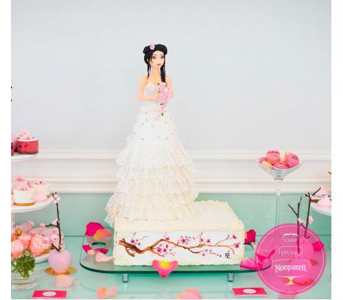 Торт Свадебный В восточном стиле