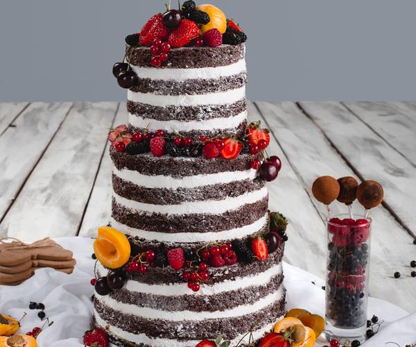 Свадебный торт в стиле Бохо (ВИДЕО)!