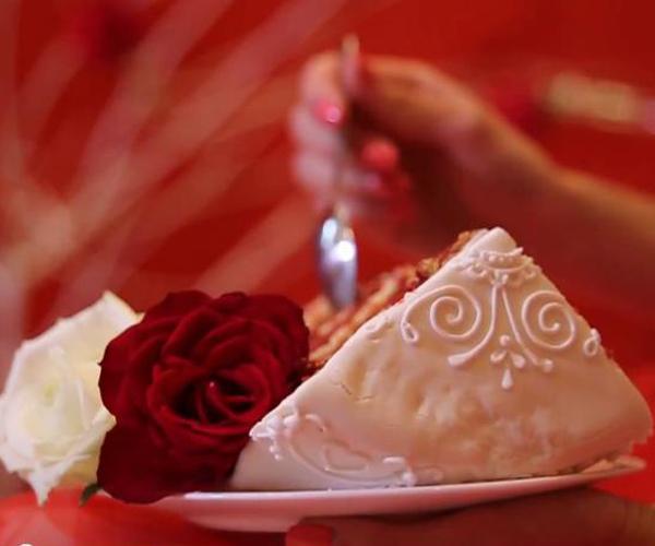 Свадебный торт - Красный бархат (ВИДЕО)!