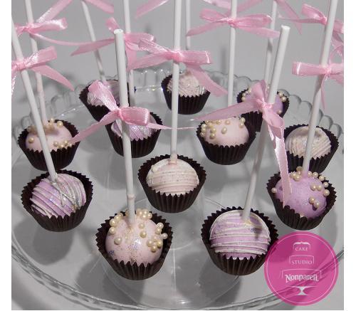 Кейк попс Розовая нежность