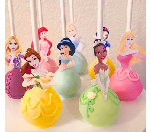 Кейк попс Принцессы