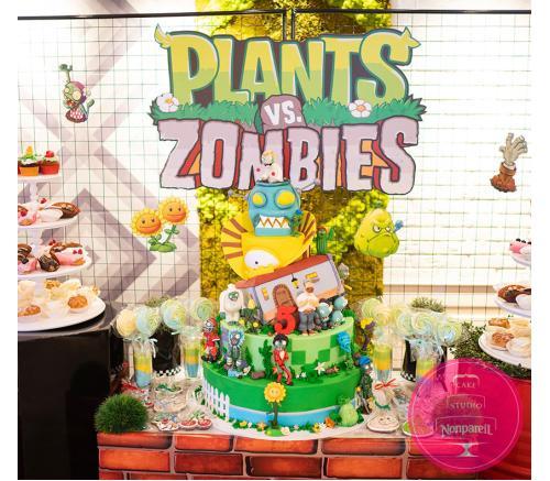 Кенди бар Зомби против растений