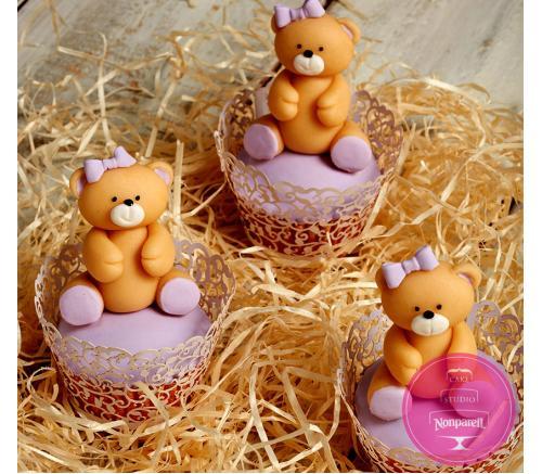 Капкейки Детские Сладкие мишки