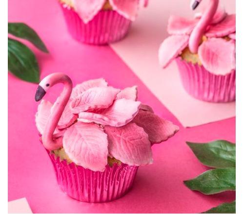 Капкейки Праздничные Фламинго