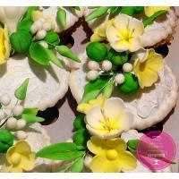 Пирожные Заказные С цветами