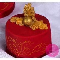 Пирожные Заказные Цвета марсала