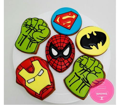 Пряники Детские Супергерои 3
