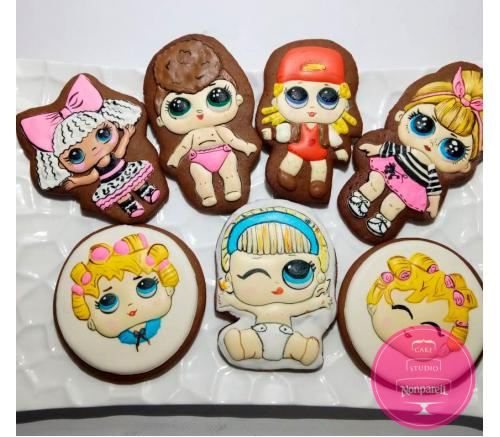 Пряники Детские Куклы LOL