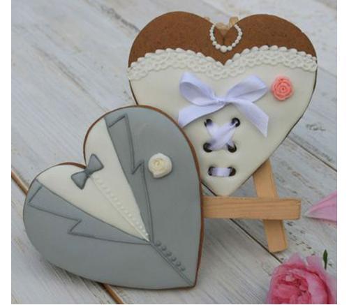 Пряники Свадебные Жених и невеста