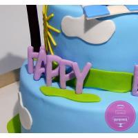 Торт Детский Свинка Пеппа 2