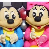 Торт Детский Микки и Минни Маусы