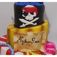 Торт Детский В пиратской тематике