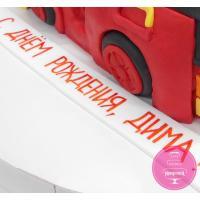 Торт Детский Пожарная машина Рой