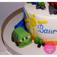 Торт Детский Мини тачки