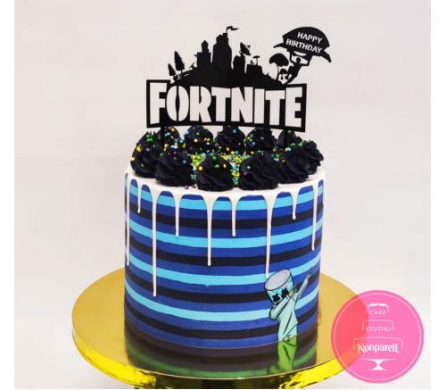 Торт Детский Fortnite 5