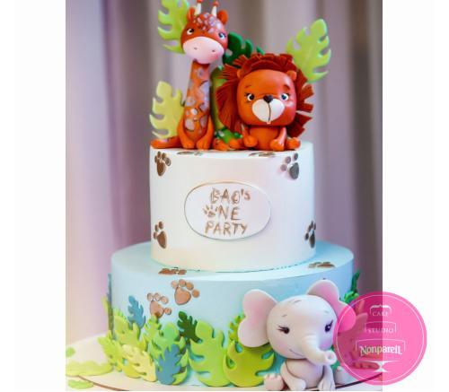 Торт Детский Сафари