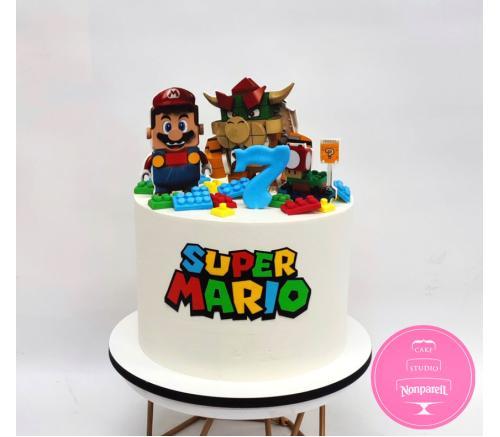 Торт Детский Лего Марио