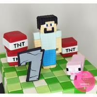 Торт Детский Майнкрафт