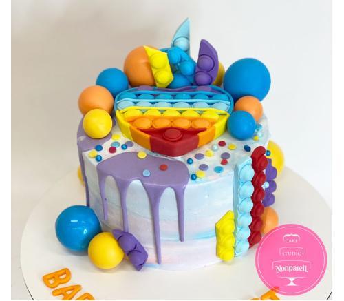 Торт Детский Pop it