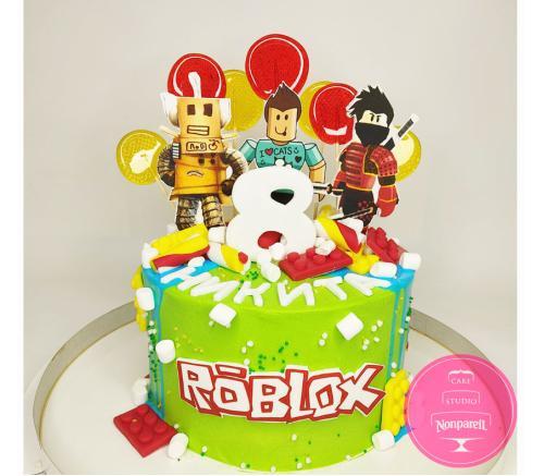 Торт Детский Роблокс