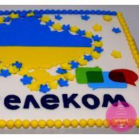 Торт Корпоративный Для Укртелеком