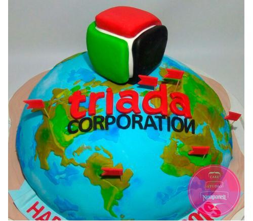 Торт Корпоративный Триада