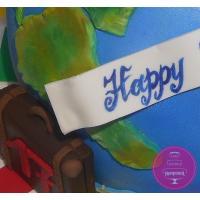 Торт Праздничный Кругосветное путешествие 1