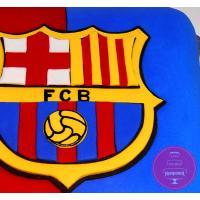 Торт Праздничный Эмблема фк Барселона