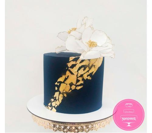 Торт Праздничный Синий бархат