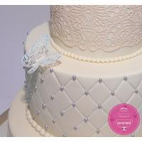 Торт Свадебный Ажурные бабочки