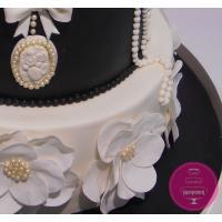 Торт Свадебный Шанель