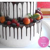 Торт Свадебный Кремовый с ягодами