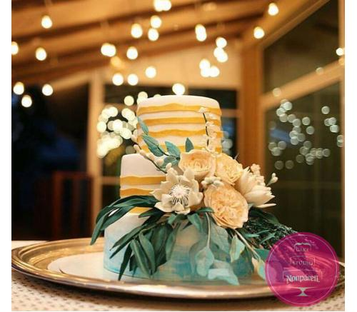 Торт Свадебный С пышным букетом