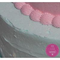 Торт Свадебный В розово-голубых тонах