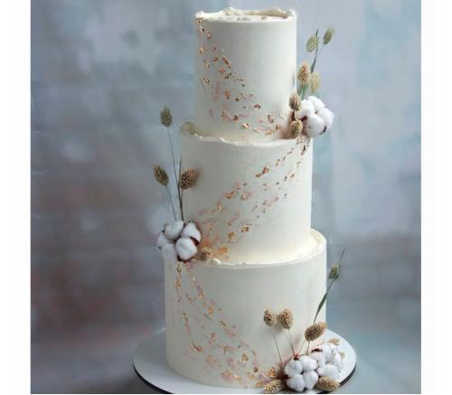 Торт Свадебный Хлопок 1